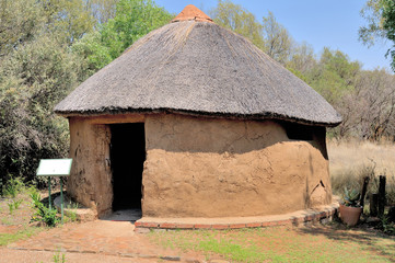 Traditiona Sotho hut