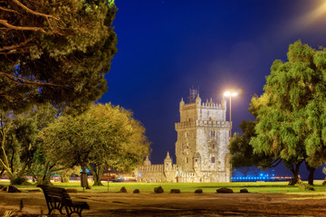 Belem tower in Lisbone city, Portugal