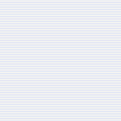 Vector seamless pattern paper exercise book in a line.