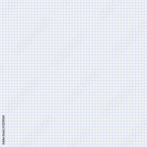 Vector seamless pattern paper exercise book in a cell - 72159564