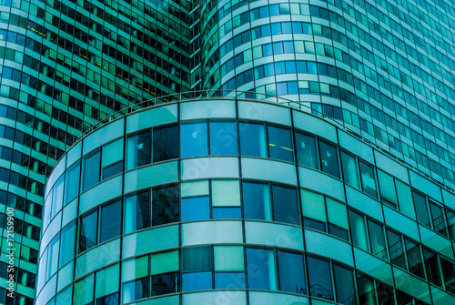 modern building  glass of skyscrapers at daytime - 72159900