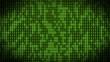 VID - binary code - green