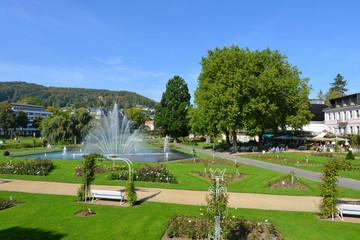 Rosengarten der Kurstadt Bad Kissingen, Park, Rosenstadt, Bayern