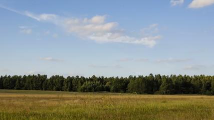 Wolken über Heide, Zeitraffer