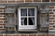 canvas print picture - fenster