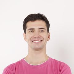 Happy Young Man Portrait.