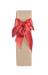 Christmas gift isolated