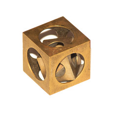 Riddle cube in a cube.