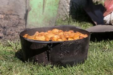 Traditional ushant island stewed lamb