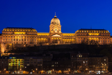Castle of Buda in Budapest, Hungary