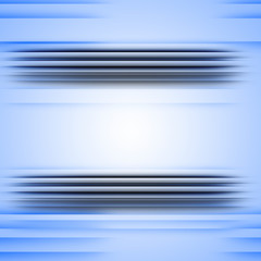 blue frame with lines