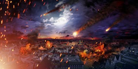 Conceptual photo of the apocalypse