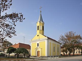 Saint Stephen church in Komarom. Hungary