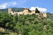 Leinwanddruck Bild - Juval Südtirol Vinschgau