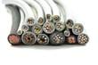 Leinwanddruck Bild - Diverse Elektrokabel