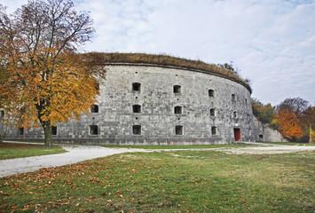 Komarom Fortress – fort Monostor in Komarom. Hungary
