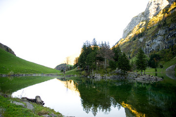 Seealpsee - Alpstein - Alpen - Schweiz
