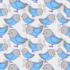 pigeon pattern vector