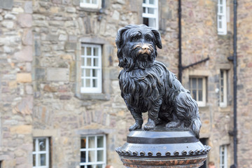 Sculpture of Greyfriars Bobby