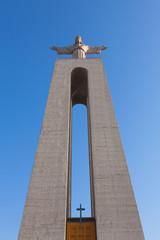 "Jesus Christ monument ""Cristo-Rei Lisboa"" in Lisbon, Portugal"