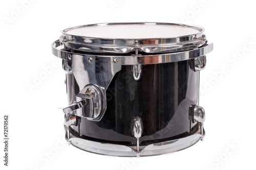 black music bass drum  on white background - 72170562