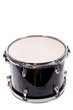 classic black music bass drum  on white background - 72170700