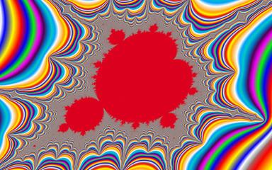 Psychedelic fractal