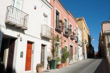 Quiet Street of Cagliari