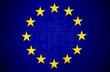 canvas print picture - EU Fahne, Flagge der europäischen Union
