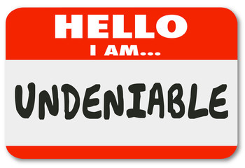 Undeniable Essential Person Nametag Sticker Valuable Worker Empl