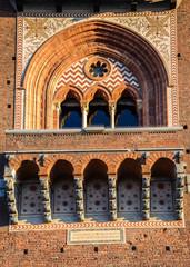 Sforza arch Milan