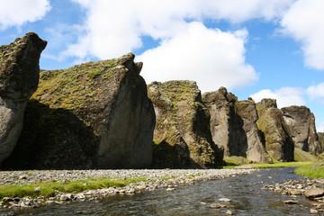 Iceland canyon