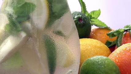 Jug of Lemonade Closeup