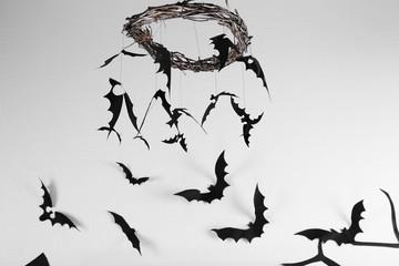 Decorative paper bats