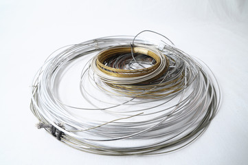 Lot of Different Metal Wire