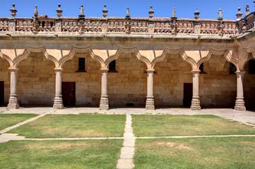Patio of the Minor Schools in Salamanca