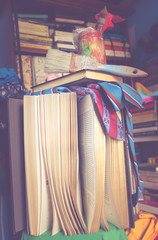 Books in the library series