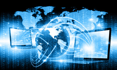 Internet Concept of global internet