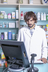 pharmacist and computer