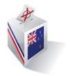 Wahlbox Neuseeland