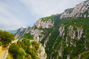 Montserrat mountain. Catalonia, Spain