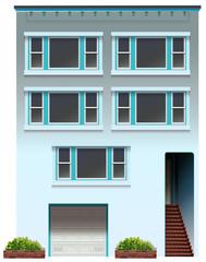 A big apartment
