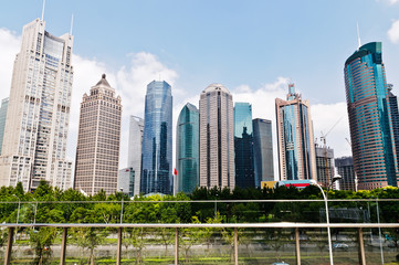 Shanghai urban building
