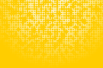 Abstract yellow background with wheels