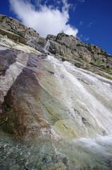 cascade - massif des écrins