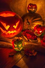 Halloween pumpkin still life2