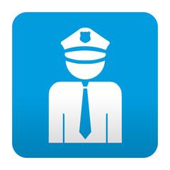 Etiqueta tipo app policia