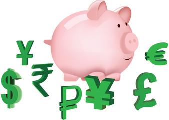 risparmio  valuta