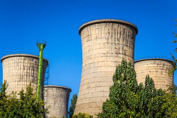 Power plant furnaces