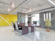 modern office interior.3d concept